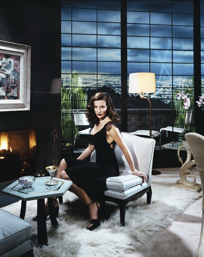 Кейт Бекинсейл (Kate Beckinsale) в фотосессии Джеффа Ридела (Jeff Riedel) для журнала New York Times.