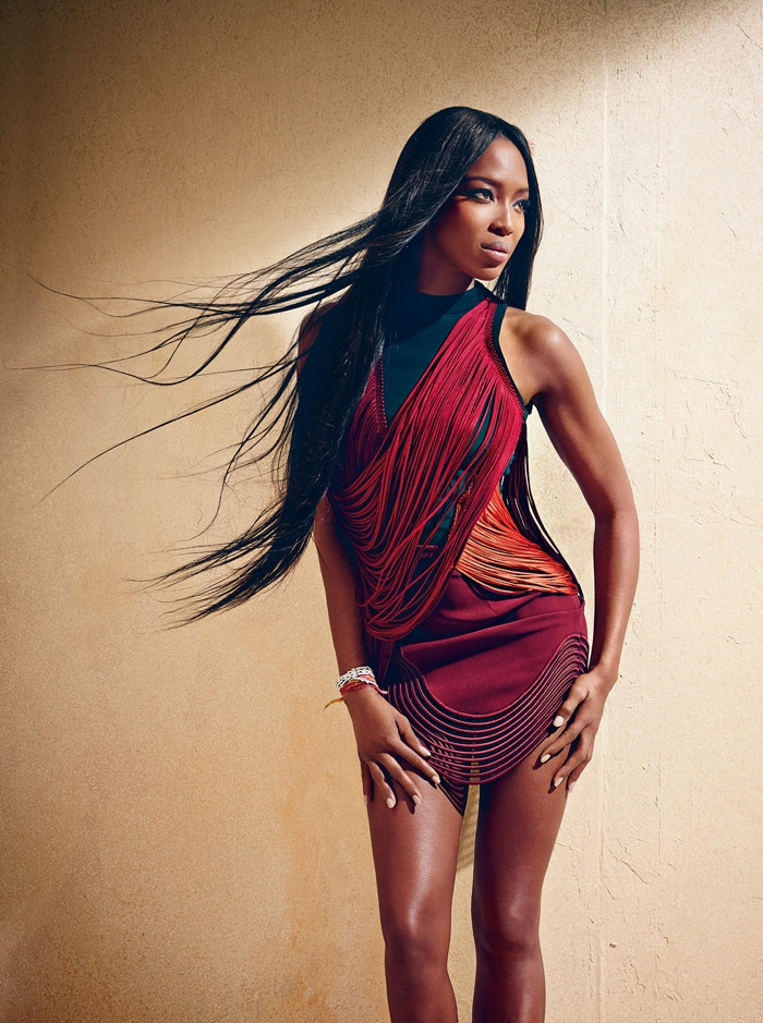 Наоми Кэмпбелл (Naomi Campbell) в фотосессии Хао Зенга (Hao Zeng) для журнала Harper's Bazaar Mexico and Latin America (сентябрь 2014)