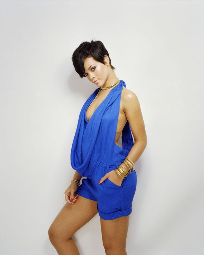 Рианна (Rihanna) в фотосессии Патрика Фрейзера (Patrick Fraser) для журнала Company (июнь 2008)