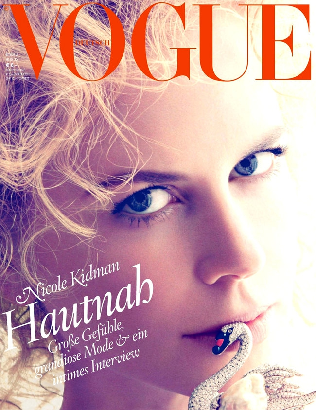 Николь Кидман стала лицом журнала «Vogue Germany» в августе