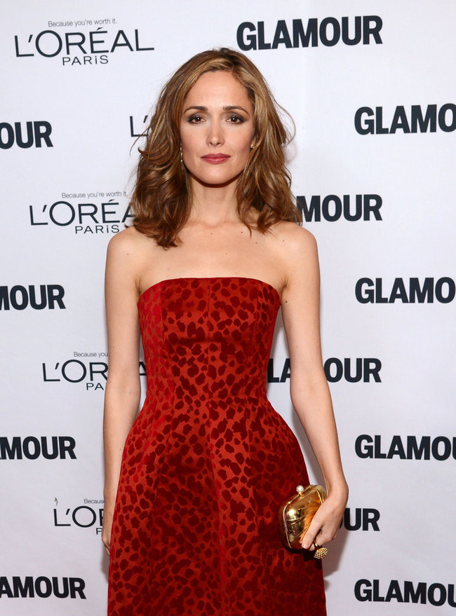 «Glamour Women Awards 2013»: Роуз Бирн в Нью-Йорке