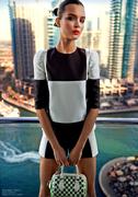 Июньский выпуск «Eurowoman»: Жозефин Скривер в «Louis Vuitton»
