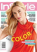 Кейт Уинслет на обложке InStyle US, апрель 2015