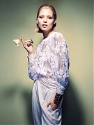 Хана Жирикова (Hana Jirickova) в фотосессии Камиллы Акранс (Camilla Akrans) для Vogue China (март 2014)
