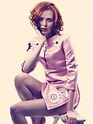 Карен Элсон (Karen Elson) в фотосессии Алекси Любомирски (Alexi Lubomirski) для журнала Harper's Bazaar UK (май 2013)