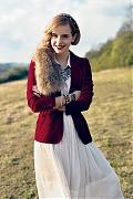 Эмма Уотсон (Emma Watson) в фотосессии Нормана Джина Роя (Norman Jean Roy) для журнала Teen Vogue (июнь 2009)