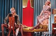 Аня Рубик (Anja Rubik) и Дарья Строкоус (Daria Strokous) в фотосессии Роу Этриджа (Roe Ethridge) для журнала W (сентябрь 2014)