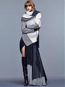 Ондриа Хардин (Ondria Hardin) в фотосессии Натаниэля Голдберга (Nathaniel Goldberg) для журнала Vogue China (ноябрь 2014)
