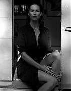 Хилари Суонк (Hilary Swank) в фотосессии для журнала Interview Magazine Germany (февраль 2015)