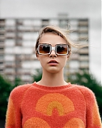 Кара Делевинь (Cara Delevingne) в фотосессии Аласдера Маклеллана (Alasdair McLellan) для журнала Purple Fashion (осень-зима 2012-2013)