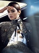 Кендалл Дженнер (Kendall Jenner) в фотосессии Девида Симса для журнала US Vogue(январь 2015)