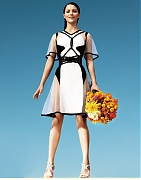 Кэтрин Макфи (Katharine McPhee) в фотосессии Николаса Мура (Nicolas Moore) для журнала Glamour (июнь 2012)