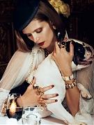 Малгосия Бела (Malgosia Bela) в фотосессии Лахлана Бейли (Lachlan Bailey) для журнала Vogue Paris (август 2012)