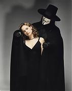 Натали Портман (Natalie Portman) в промо-фотосессии для фильма «V – значит вендетта» (V for Vendetta) (2005)