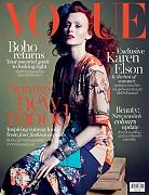 Карен Элсон на обложке Vogue Таиланд, апрель 2015