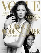 Семейная фотосессия Даутцен Крез для Vogue Нидерланды