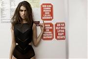 Решительная и соблазнительная венгерская фотомодель Габриэлла Кути