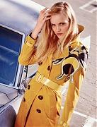 Гинта Лапина на обложке Glamour France, февраль 2015