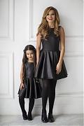 Ксения Бородина снялась для модного бренда вместе с дочкой
