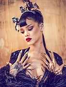 Рианна (Rihanna) в фотосессии Chen Man для журнала Harper's Bazaar China (апрель 2015)