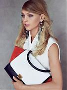 Саша Пивоварова на страницах Vogue US