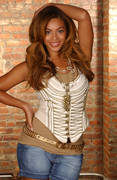 Бейонсе Ноулз(Beyonce Knowles) в фотосессии Кармен Портелли(Carmen Portelli) (2007).