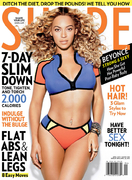 Бейонсе Ноулз(Beyonce Knowles) в фотосессии Клиффа Уоттса(Cliff Watts) для журнала Shape (апрель 2013).