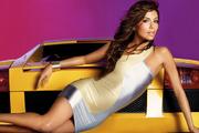Ева Лонгория (Eva Longoria) в фотосессии для рекламы Bebe (весна-лето 2008)