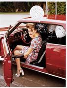 Камилла Белль(Camilla Belle) в фотосессии Эллен фон Унверт(Ellen von Unwerth).