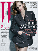 Эмма Уотсон в свежем выпуске «W magazine»