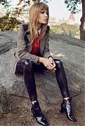 Жозефин Скрайвер (Josephine Skriver) в фотосессии Регана Кэмерона (Regan Cameron) для журнала Harper's Bazaar UK (сентябрь 2014)